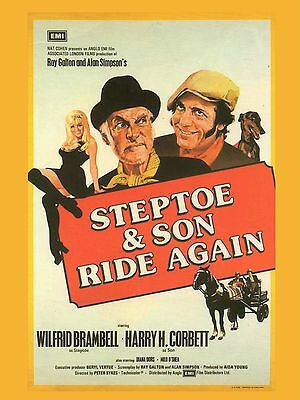 "Steptoe and Son Ride Again 16"" x 12"" Reproduction Movie Poster Photograph"