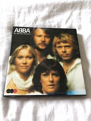ABBA The Definitive Collection 2CD & DVD box set (2004) VGC - Cardboard Case