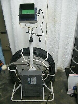 Q Cues Mplus Cm350 Portable Mini-mainline Inspection Sewer Camera