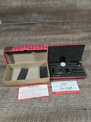 Starrett Last Word Indicator No.711lcs With Original Case .0005 Case Warped