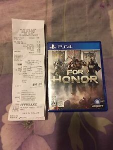 For Honor Ps4 brand new !!!!