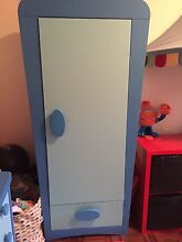 IKEA mammut blue kids furniture wardrobe and 2 chest of drawers Matraville Eastern Suburbs Preview