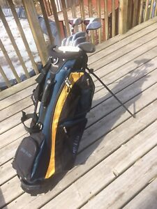 Woman's Inspire World Tour golf clubs and Top Flight  bag $100