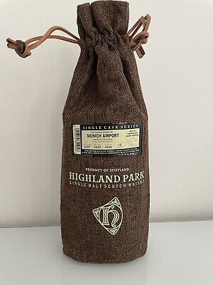 Highland Park Whisky 12 Jahre Sherry Butt 0,7l - Single Cask Series for Germany