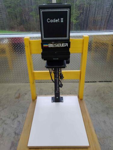 Beseler Cadet II Enlarger with Baseboard & Easel