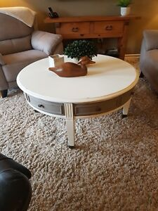 Shabby Chic Round Coffee Table