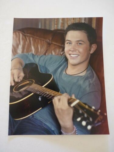 Scotty McCreery Country Music 8x10 Color Promo Photo #2