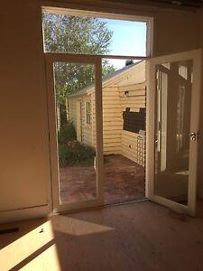 Glass Doors, window, frame. Set of 4 matching Malvern East Stonnington Area Preview