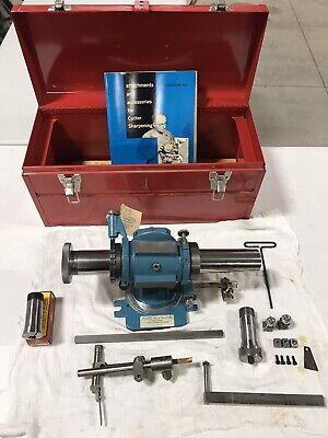 New Rocheleau 5c 1-b Air Bearing Spindle Fixture Endmill Cutter Grinding Sharpen