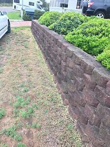 Concrete Retaining Wall Blocks Swansea Heads Lake Macquarie Area Preview