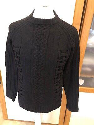 Versace Mens Crew Neck Jumper Knit Medium