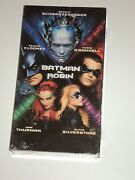 Batman Robin 1997 VHS