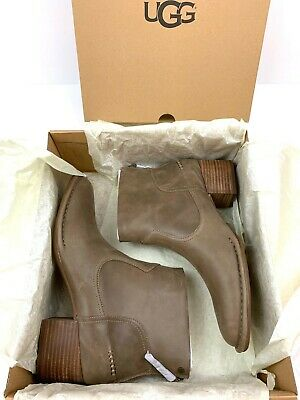 UGG 1098310 BANDARA Block Heel Ankle Booties SAHARA Boot Size 11