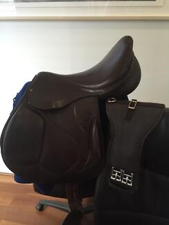 "Saddle eventing/jumping Riviera Saumer 17-17.5"" Mosman Park Cottesloe Area Preview"