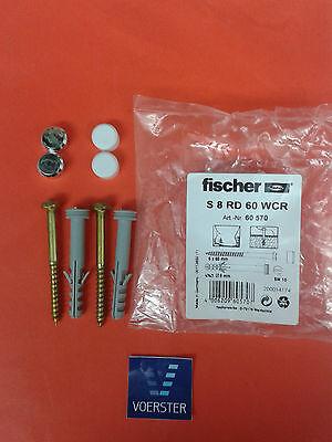 Fischer-Sanitär-Befestigung S 8 RD Typ S8RD60WCR WC Befestigung
