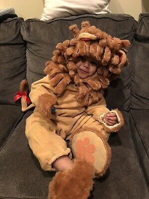 Baby Halloween Costumes Lil Lion (Incharacter Lil Lion Costume Baby Halloween Outfit Medium 18-24 months)