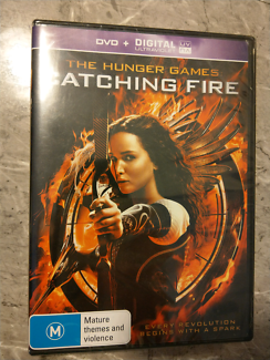 Catching Fire the hunger games dvd