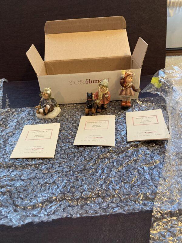 Studio Hummel Christmas Ornaments set of 3 #15