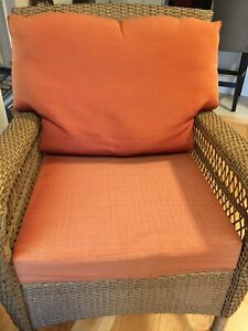 Patio chair cushions.    Have 2 sets  SOLD
