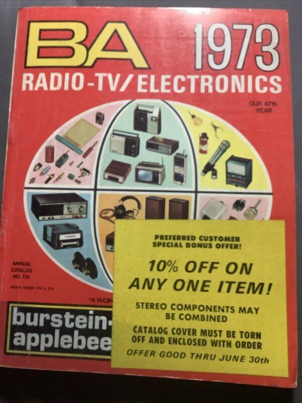 Burstein-Applebee BA Radio-TV/Electronics 1973 Catalog