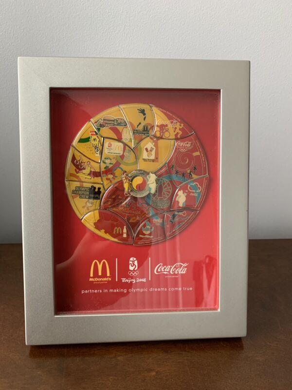 McDonald's Coca Cola Beijing Summer Olympics 2008 Pin Memorabilia