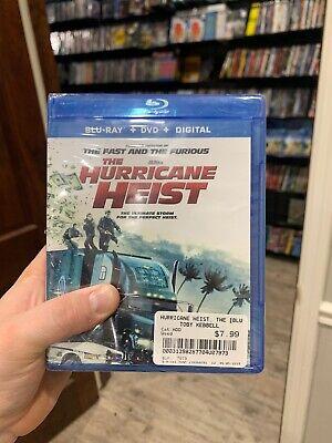 NEW The Hurricane Heist Blu Ray, DVD & Digital