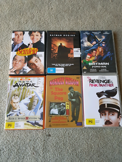 DVDs $2 each or all for $10