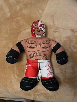WWE Rey Mysterio Mexican Brawlin Buddies Talking Wrestler Plush/Stuff Doll 2011