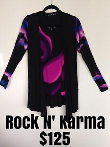 New Rock 'n Karma wind jacket & matching long river tank top