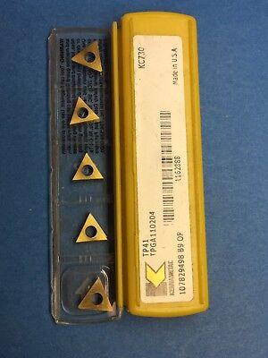Kennametal Tpga110204 Kc730 Carbide Inserts 5 Pcs. L70