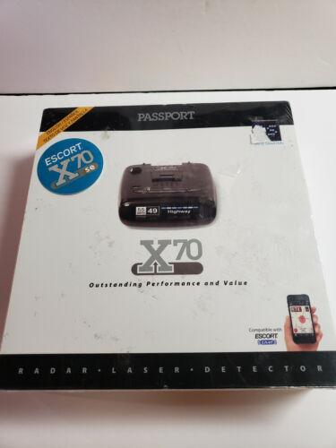 Escort Passport X70 Radar Detector 737795001829