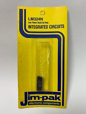 Integrated Circuits-jim-pak Lm324n-low Power Quad Op Amp Electronic Components