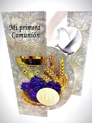 24 FIRST COMMUNION INVITATIONS SPANISH PRIMERA COMUNION  INVITACIONES Boy/Girl (Boys First Communion)