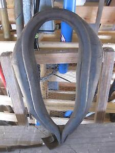 Antique Leather Draught Horse Collar - A Great Character Piece Yatala Gold Coast North Preview