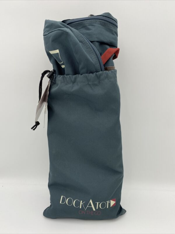 DockATot Deluxe Dock Transport Bag in Midnight Teal - New With Tag
