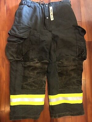 Firefighter Janesville Lion Apparel Turnout Bunker Pants 34x30 06 Black Costume