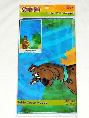 ~~ SCOOBY-DOO!   1- PLASTIC TABLE COVER-54
