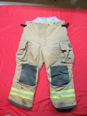 Mfg. 2010 42 X 27 Fire Dex Firefighter Turnout Bunker Pants Gear Rescue Safety