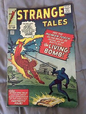 strange tales #112 marvel 1st EEL 4.5 vg plus