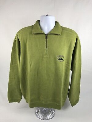 NEW! Men's Tommy Bahama Relax 1/4 Zip Pullover Sweatshirt Size Large W/Tags