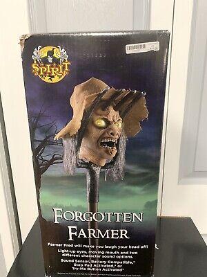 Spirit Halloween Animatronic Forgotten Farmer