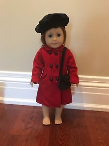 """Maplelea Girls """"concertina coat"""" outfit for dolls"""