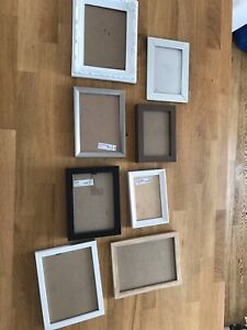 Assorted photo picture frames