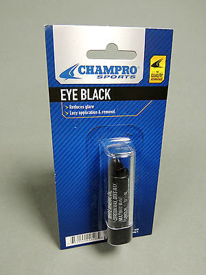 NEW Champro sports Eye Black Glare Reducer for Baseball Football Lacrosse soccer