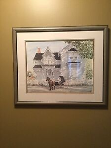 Walter Campbell Framed Picture