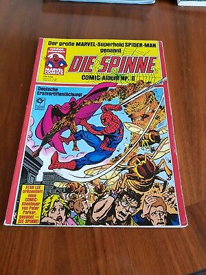 Die Spinne Comic Album Nr. 6 Spider-Man 1. Auflage Condor