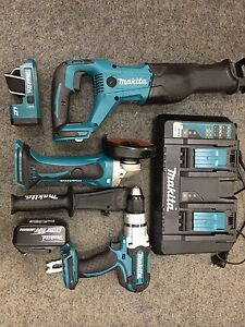 Makita LXT 18V 4 Piece Cordless Combo Kit Liverpool Liverpool Area Preview