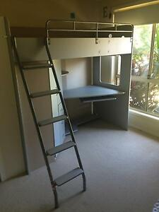 Bunk bed with desk underneath Coffs Harbour Coffs Harbour City Preview