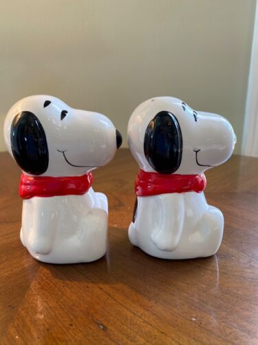 Vintage Snoopy Salt & Pepper Shakers