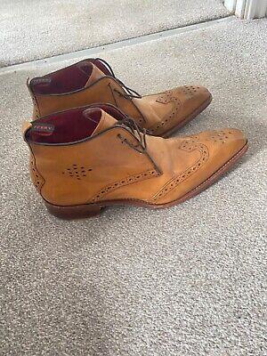 JEFFERY WEST boot shoe,tan size size 9
